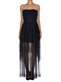 ABITO BUSTIER IN TULLE